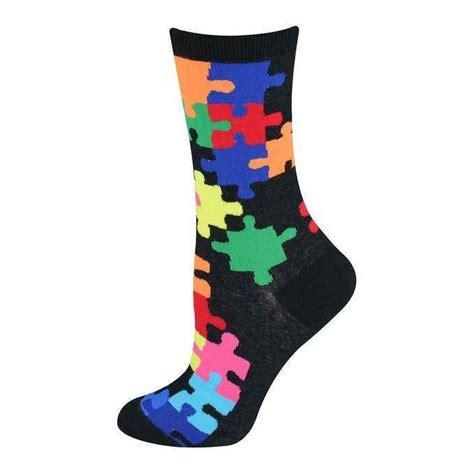 Socks Pattern Crossword | colorful jigsaw puzzle pattern socks women