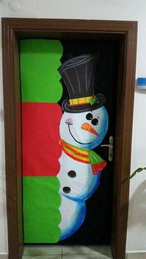 ideas  decorar puertas escolares en navidad dale detalles