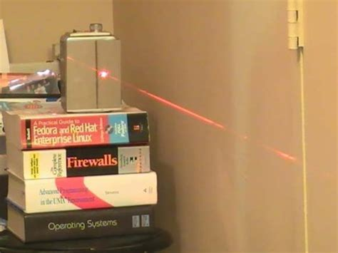 how to make your own laser tripwire neatorama