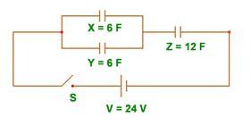 kapasitor x y dan z dirangkai seperti gambar pengantar teknik elektronika