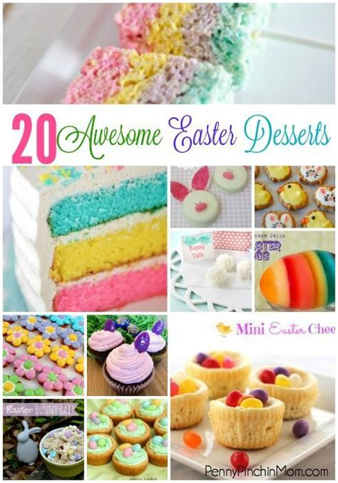 20 awesome and delicious easter desserts for