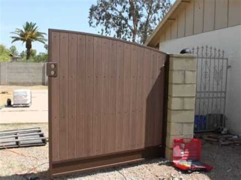 Backyard Fences Pictures Gate Installation How To Youtube