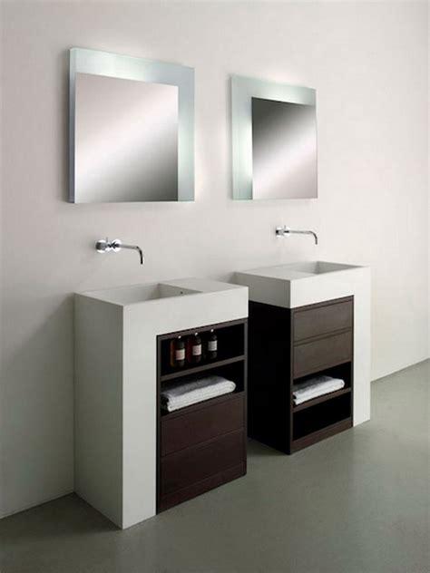white contemporary bathroom vanities home decor