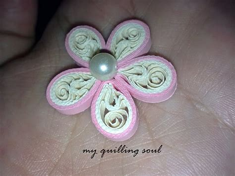 Quilling Pinterest Tutorial Flowers | quilled flower tutorial quilling pinterest