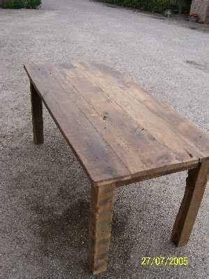 tafel oud maken wat maken we van oud hout