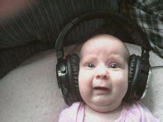 Baby Headphones Meme - music on pinterest dubstep porter robinson and skrillex
