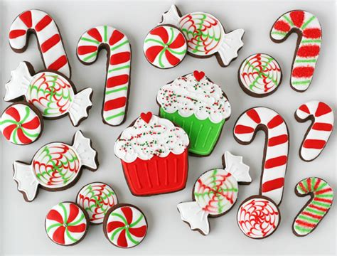 peppermint candy decorated cookies glorious treats