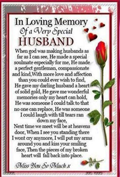 For my very special husband, Jose!   IN LOVING MEMORY OF