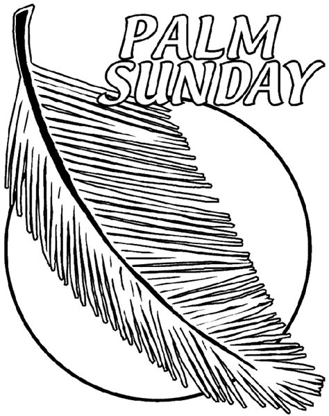 palm leaf coloring coloring coloring pages