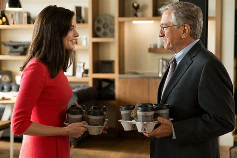 the intern review review nancy meyers bets on an adorable de niro in the intern