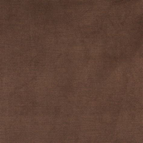 Brown Soft Luxurious Microfiber Velvet Upholstery Fabric By The Yard