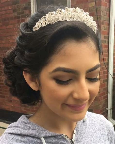 hairstyles with crowns 20 absolutely stunning quinceanera hairstyles with crown