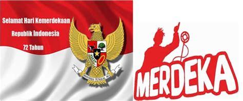 meme hut ri  terbaru  logo dp bbm dirgahayu