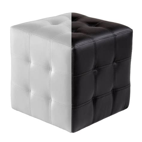 tufted cube ottoman tufted leather cube ottoman