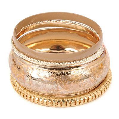 Bangle Flower Decorated Multilayer T58f67 model khaki item brand fashion bangles asujewelry