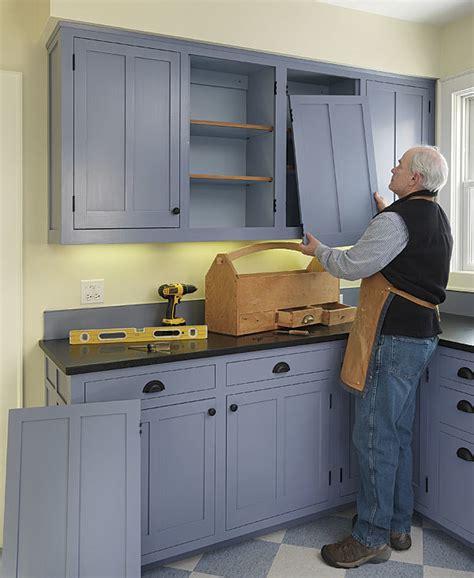 Installing Cabinet Doors How To Install Inset Cabinet Doors Homebuilding