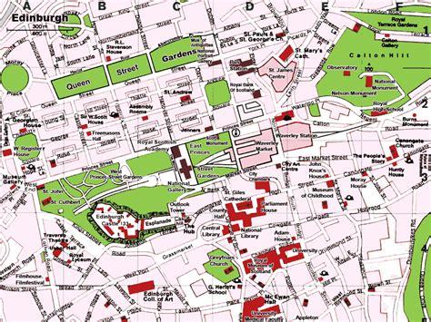 printable maps edinburgh city centre edinburgh scotland tourist map edinburgh scotland mappery