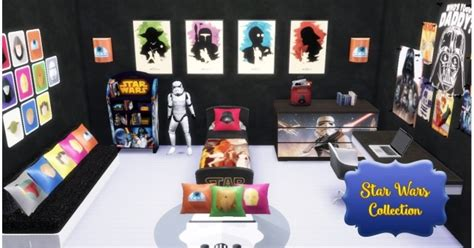 Star Wars Bedroom at Victor Miguel » Sims 4 Updates