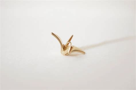 Origami Crane Lyrics - origami crane necklace origami cranes origami and chains
