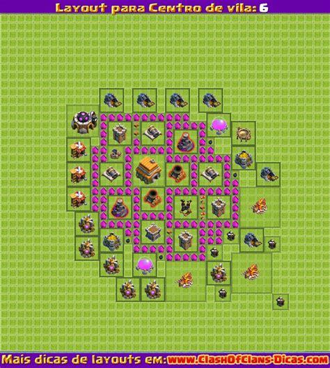 layout batman cv 6 melhores layouts para clash of clans centro de vila n 237 vel