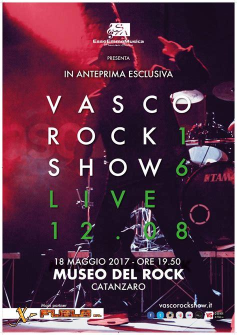 vasco rock vasco rock show in concerto al museo rock di