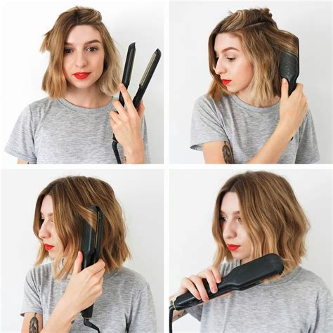 how to create messy bob how to messy bob hair pinterest bobs how to curl