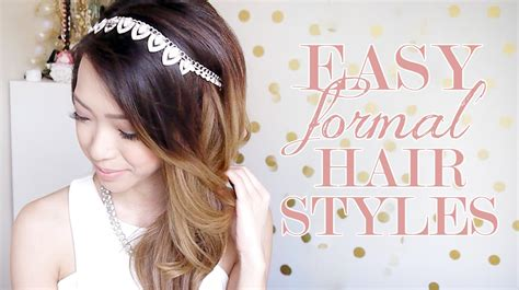 Easy Formal Hairstyles For Hair by Easy Formal Hairstyles Hair Tutorial Qtiny