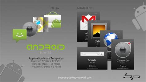 Android Design Vorlagen Android Symbol Vorlagen Der Kostenlosen Psd