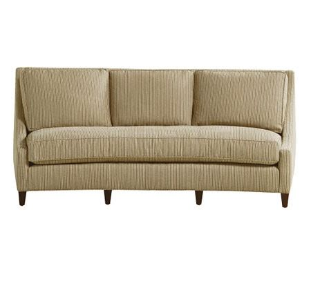 curved back sofa contemporary sofas by baker furniture