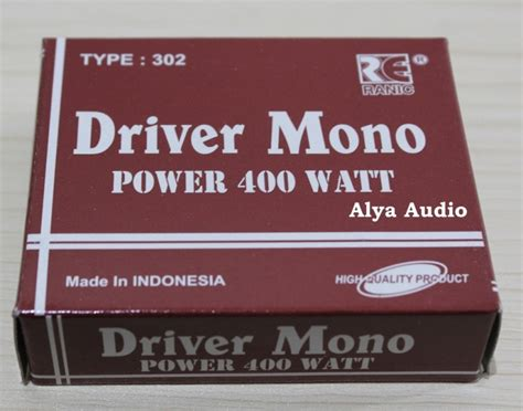 Harga Driver Sanken driver power sanken 400w mono 302 quot alya audio quot elektronik