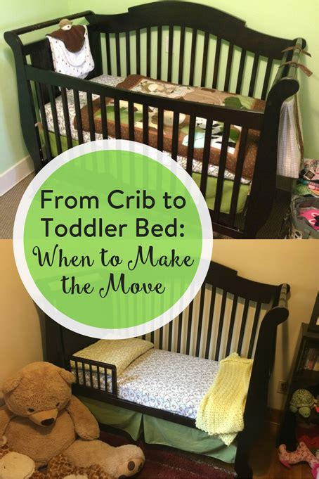 when to move to toddler bed from crib to toddler bed when to make the move the