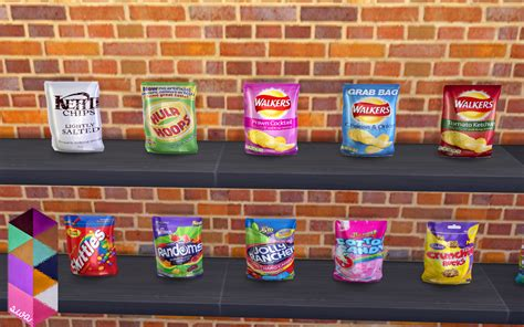 sims 4 food clutter my sims 4 blog candy and chips clutter set by simmingwithabbi