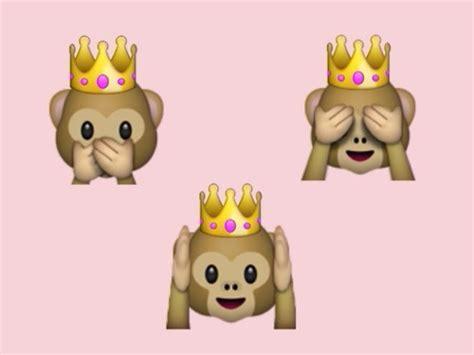 new year monkey emoji monkey emoji discovered by kgomi on we it