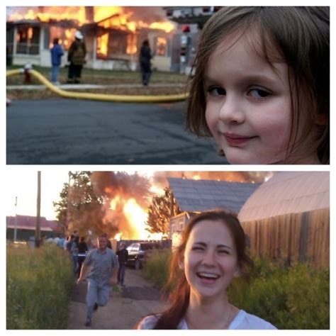 Disaster Girl Meme - funny pictures january 10 2015