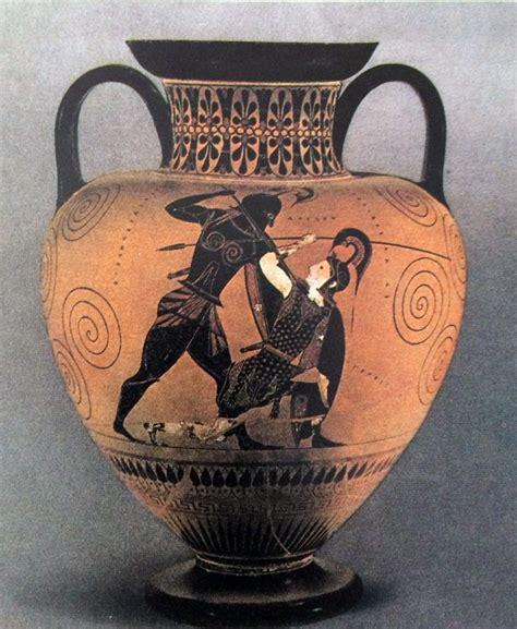 vasi greci a figure nere la ceramica greca i vasi dipinti anfora a figure nere con