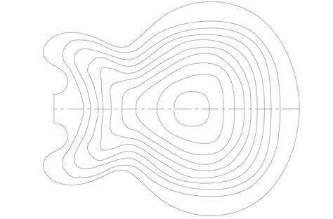gibson es 335 guitar templates electric herald