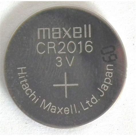 Batere Cr 2016 Maxell Lithium Kancing Cr2016 Cr 2016 Mobil pila boton de litio cr2016 maxell 3v