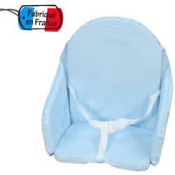 bambisol bambisol coussin de chaise bleu ciel 316418