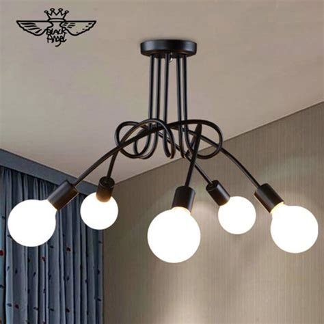modern brief led ceiling light creative black ceiling l