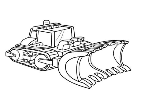 Boulder Constructions Bot Coloring Pages For Kids Printable Rescue Bots Coloring Pages