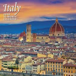 Italy Calendã 2018 Buy Italy 2018 Wall Calendar By Calendar Ink Best Price
