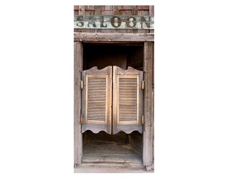 photo wall mural door thrilling saloon 100x210 western bar