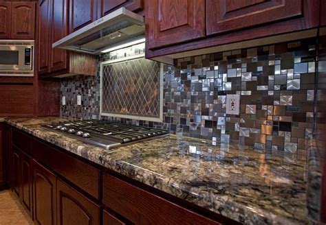 kitchen backsplash stainless steel stainless steel backsplash 2