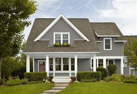 house paint colors exterior benjamin benjamin chelsea gray house exterior ideas