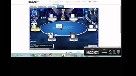 win   poker tournament  clubwpt youtube