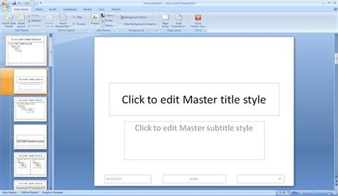 save slide master as template authoring techniques for accessible office documents
