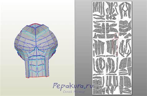 костюм дефстроука сделать deathstroke armor papercraft