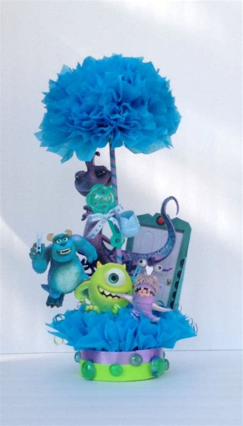 monsters inc baby shower centerpieces monsters inc table centerpiece baby shower centerpiece