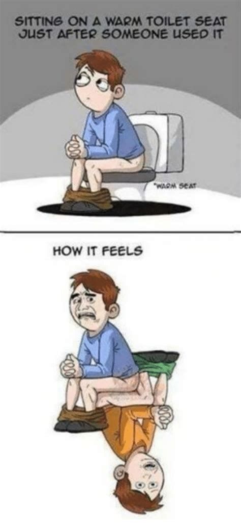 Warm Toilet Seat Meme - 25 best memes about warm toilet seat warm toilet seat memes