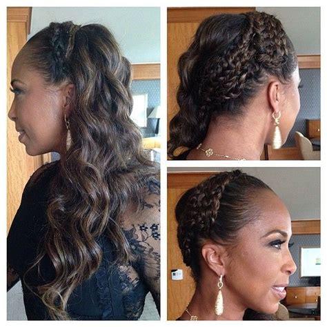steve harveys wifes hairdo marjorie harvey shows off braided hairstyles on instagram